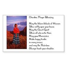 Cherokee Prayer Decal