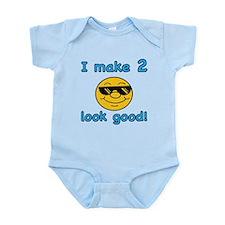 Funny 2nd Birthday (Blue) Infant Bodysuit
