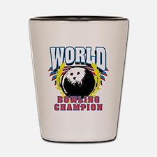 World Bowling Champion Shot Glass