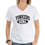 Yonkers Girl Women's V-Neck T-Shirt