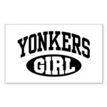 Yonkers Girl Sticker (Rectangle)