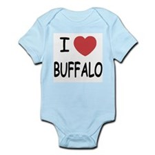 I heart buffalo Onesie