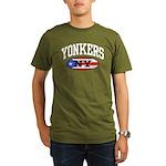 Yonkers Puerto Rican Organic Men's T-Shirt (dark)