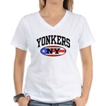 Yonkers Puerto Rican Women's V-Neck T-Shirt