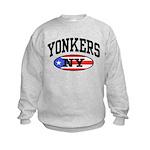 Yonkers Puerto Rican Kids Sweatshirt