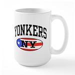 Yonkers Puerto Rican Large Mug