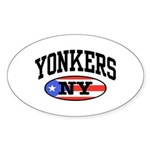 Yonkers Puerto Rican Sticker (Oval)