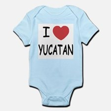 I heart yucatan Infant Bodysuit