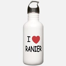 I heart ranier Water Bottle