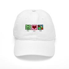 Peace Love Farm Baseball Cap