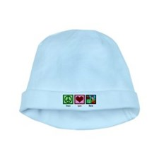 Peace Love Farm baby hat