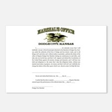 Dodge City Marshal Postcards (Package of 8)