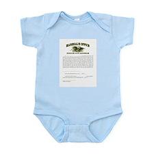 Dodge City Marshal Infant Bodysuit