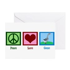 Peace Love Geese Greeting Cards (Pk of 10)