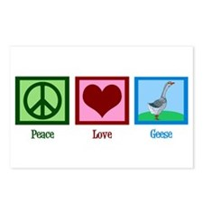 Peace Love Geese Postcards (Package of 8)