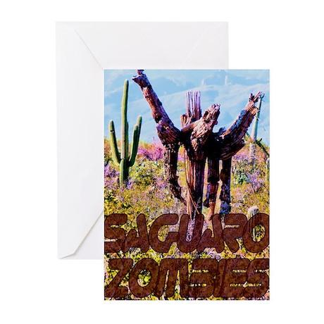 Saguaro Zombies Zombie 3 Greeting Cards (Pk of 10)