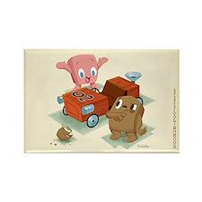 Dookie-Poo's Go-Kart Rectangle Magnet