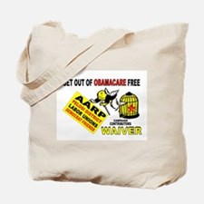 ONLY DUMBIES WILL PAY Tote Bag