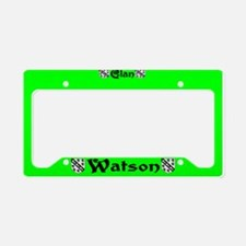 Clan Watson (ireland) License Plate Holder