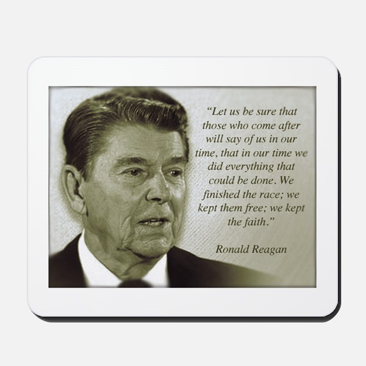 ReaganQuote Mousepad