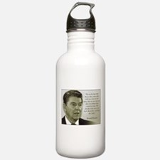 ReaganQuote Sports Water Bottle
