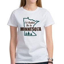 I'd Rather Be In Minnesota Tee