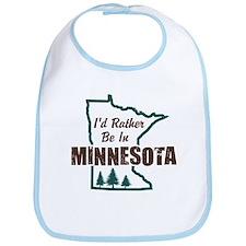 I'd Rather Be In Minnesota Bib