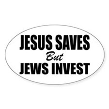 Jews Invest Decal