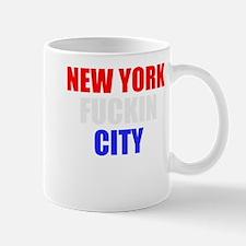 New York Fuckin City USA Amer Mug