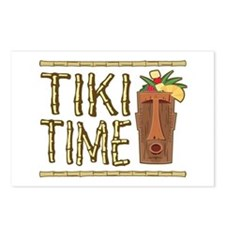 Tiki Time - Postcards (Package of 8)
