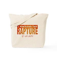 I Survived the Rapture 5-21-2011 Tote Bag