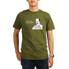 Being Myself Organic Men's T-Shirt (dark)