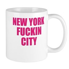 New York Fuckin City Mug