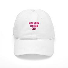 New York Fuckin City Baseball Cap