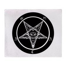 Cool Pentagram Throw Blanket