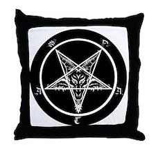 Cute Black Throw Pillow
