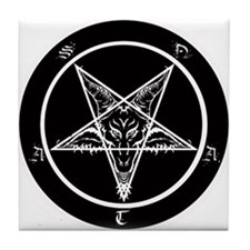 Funny Death metal Tile Coaster