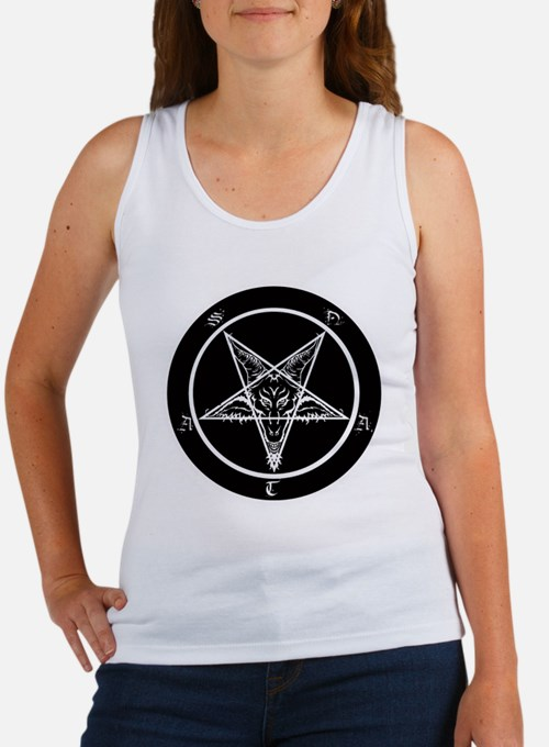 Cute Pentagram Women's Tank Top