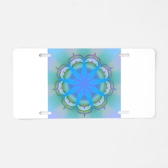 LightoftheLotus40 Aluminum License Plate