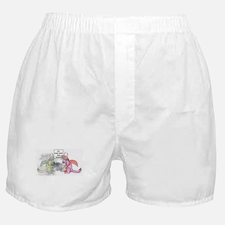 Smoking Dragon Boxer Shorts
