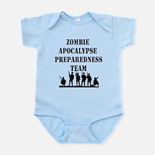 Zombie Apocalypse Preparedness Team Infant Bodysui