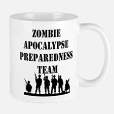 Zombie Apocalypse Preparedness Team Mug