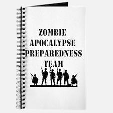Zombie Apocalypse Preparedness Team Journal