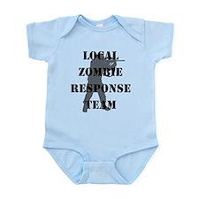 LOCAL ZOMBIE RESPONSE TEAM Infant Bodysuit