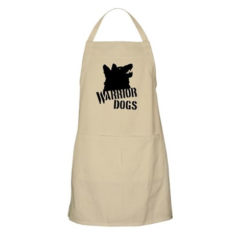 Warrior Dogs Apron