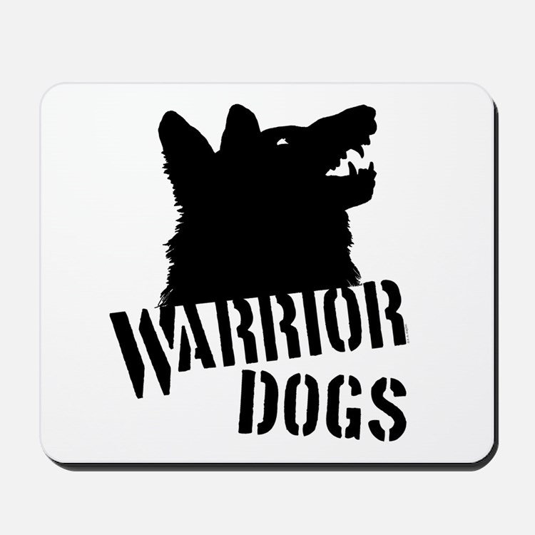 Warrior Dogs Mousepad