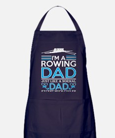Im Rowing Dad Just Like Normal Dad Ex Apron (dark)