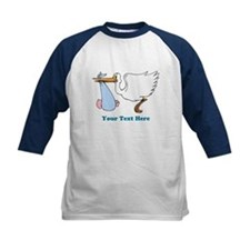 Baby Boy With Stork Tee
