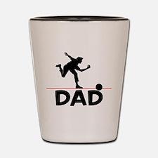 Bowling Dad Bowler Shot Glass