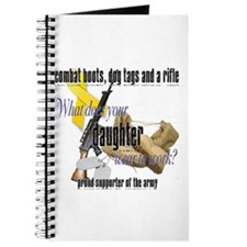 Army What Does Your Daughter Wear Journal